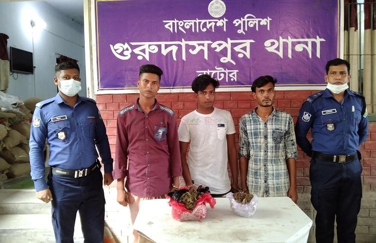 Natore+Guriidaspur+Gaza+Arrest+Police