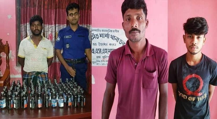 Sharsha+phensedyl+Arrest