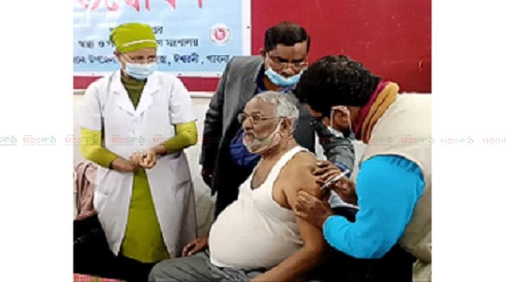MP take vaccine+ishurdi