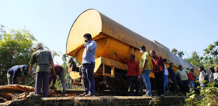 rail accident+shylet