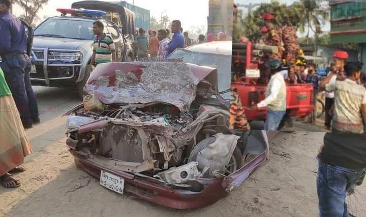 road accident+benapole