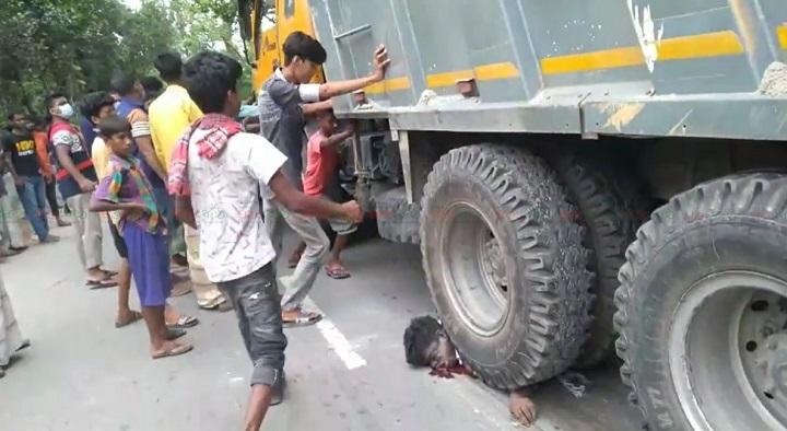 road accident+vangura