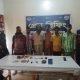 সিরাজগঞ্জের সলঙ্গায় গাঁজা সেবনকারী ৬ সদস্য আটক