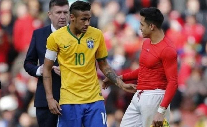 brasil vs chili