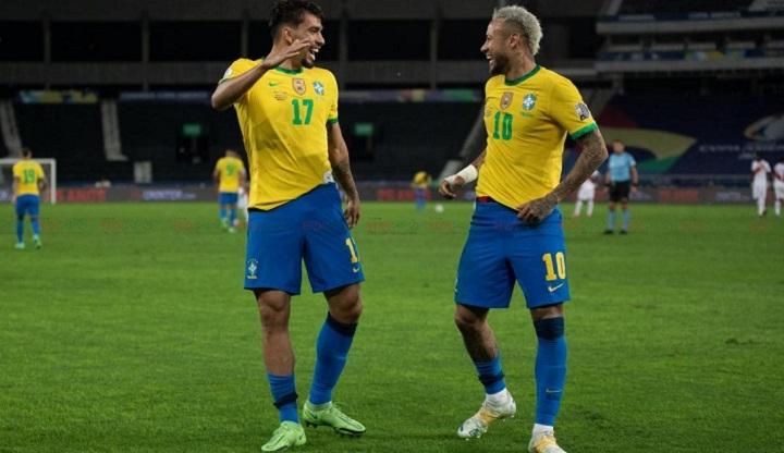 brasil win moment