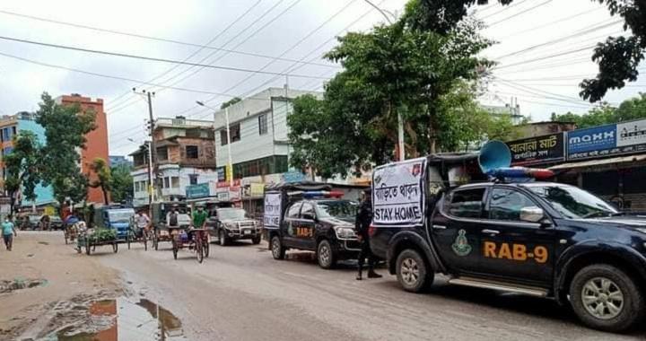 sylhet lockdwon pic